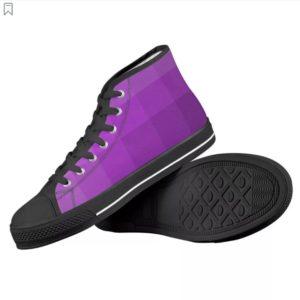 Black-High-Top-Canvas-Shoes