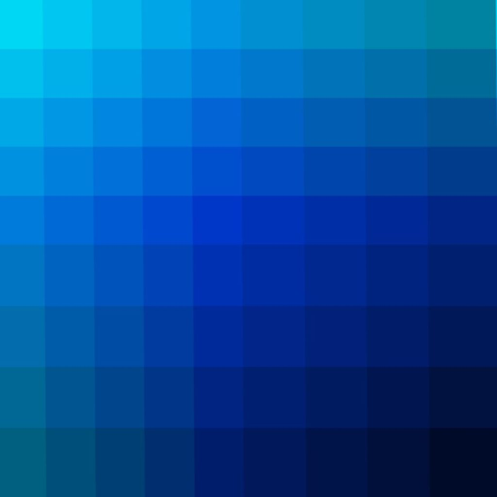 Farbverlauf Blau