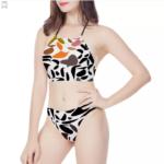Women's High Neck Bikinis Swimsuit
