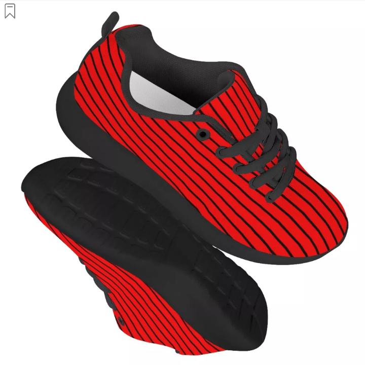 Black Mesh Athletic Sneaker